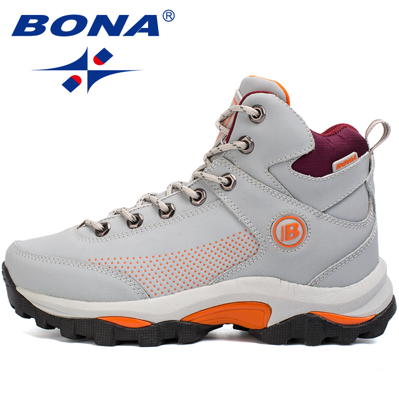 BONA New Popular Style Women Hiking Shoes Outdoor Explore Multi-Fundtion Walking Sneakers Wear-Resistance Sport Shoes For Women