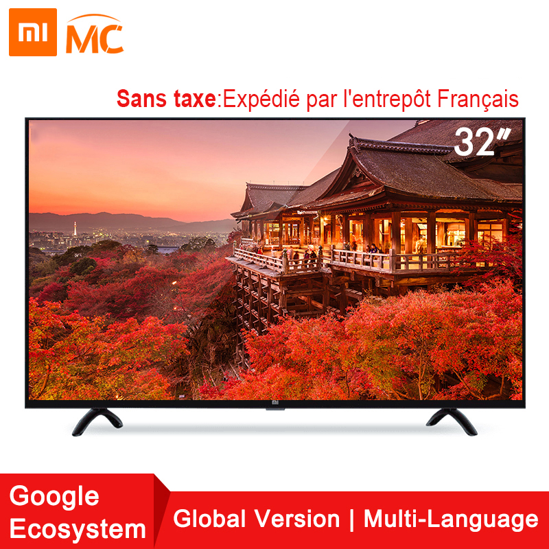 Global! Xiaomi TV smart television 4A 32 inches 1G+8G storage support miracast intellgent LED television Game Play Display