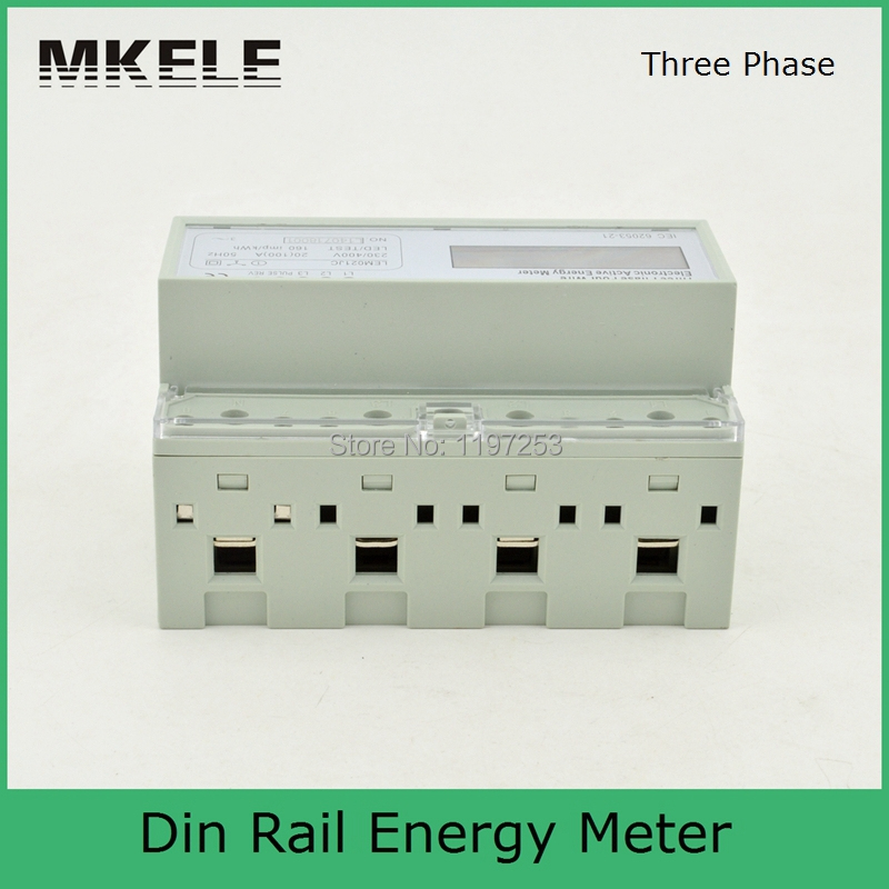 Din Rail MK-LEM021JC energy power meter, energy meter box, three phase analog energy meter mk lem021ag 3 phase 4 wire energy meter connection three phase energy meter test bench digital energy meter