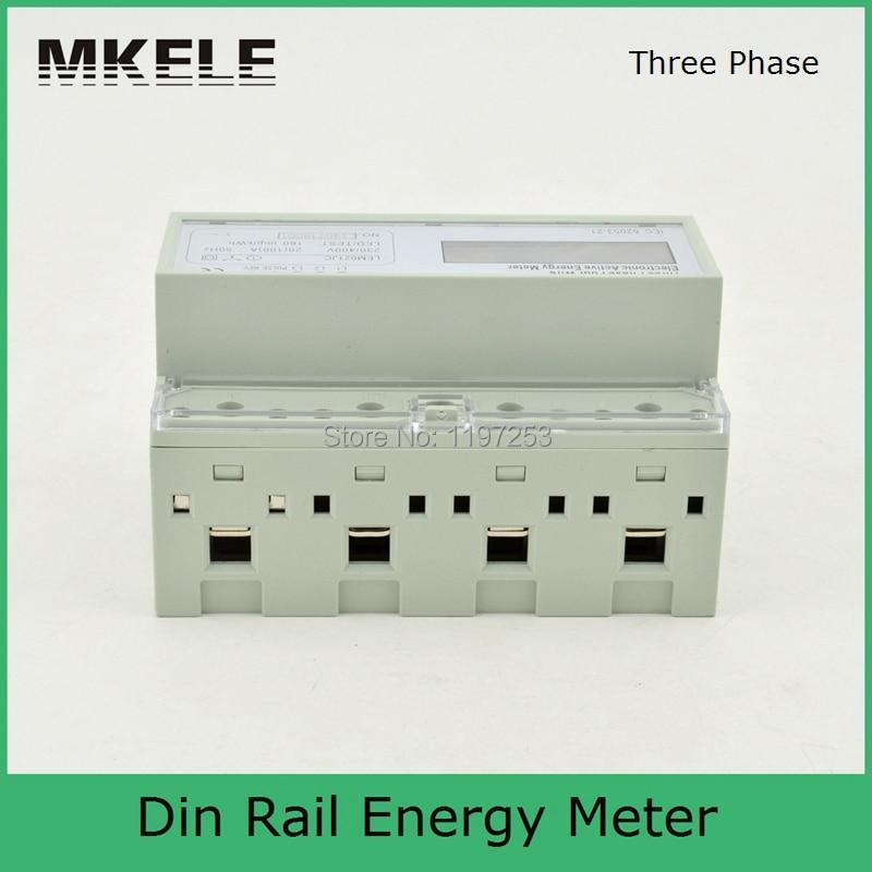Din Rail MK-LEM021JC energy power meter, energy meter box, three phase analog energy meter цена