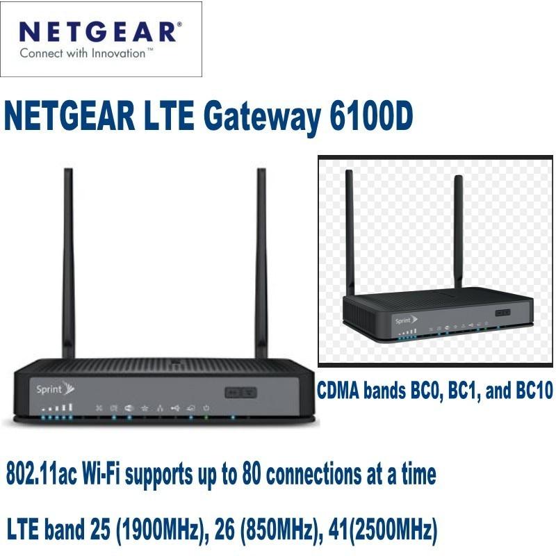 NETGEAR LTE Ağ Geçidi 6100D