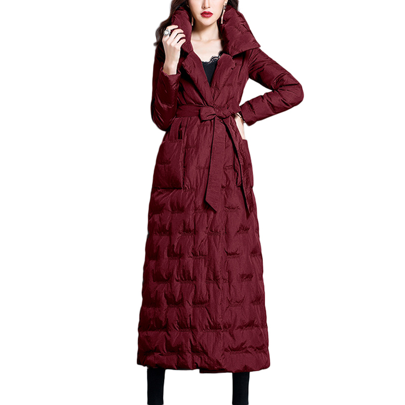 2018 Winter Plus Size 2XL Long Womens warm Down Jackets ...