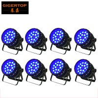Cheap Price 8 Pack Alibaba/Alixpress Led Stage Light Par Can Light 18x12w RGBW 4in1 Zoom Led Par 64 Aluminum 1 Year Warranty