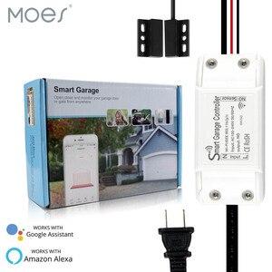 Смарт-контроллер для гаражных дверей с поддержкой Wi-Fi