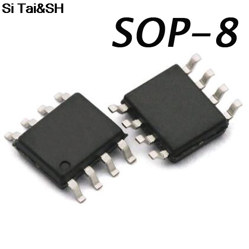 100pcs/lot   LM393  393 Low voltage comparator chip  SOP-8