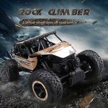 Лидер продаж Электрический rc автомобиль Q-15 1/14 2.4 ГГц 4WD 4×4 вождения рок-гусеничный Дистанционное управление автомобиля внедорожных автомобилей RC Monster Truck для детей