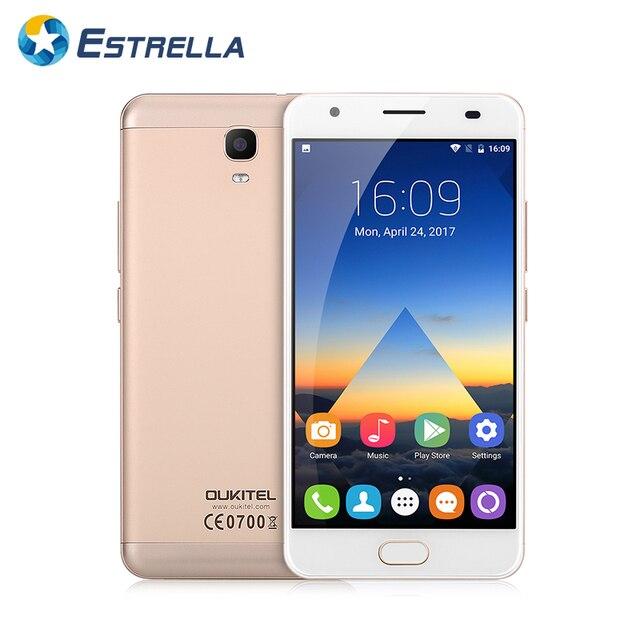 "OUKITEL K6000 Plus 5.5""FHD Front Huella dactilar 6080mAh Flash Charging Smartphone Android 7.0 MT6750T Octa Core 4G RAM 64GB ROM"