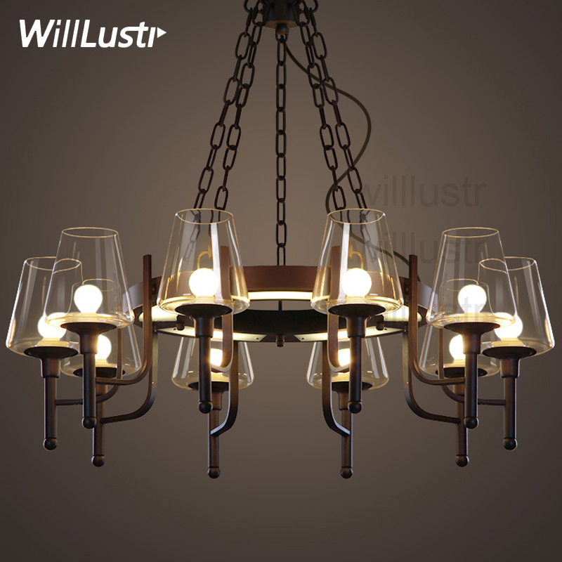 Willlustr white clear glass shade hanging lighting LED pendant lamp iron industry rest room restaurant loft Bar suspension Light визитницы и кредитницы diesel x05079 p1506 t8013 page 7
