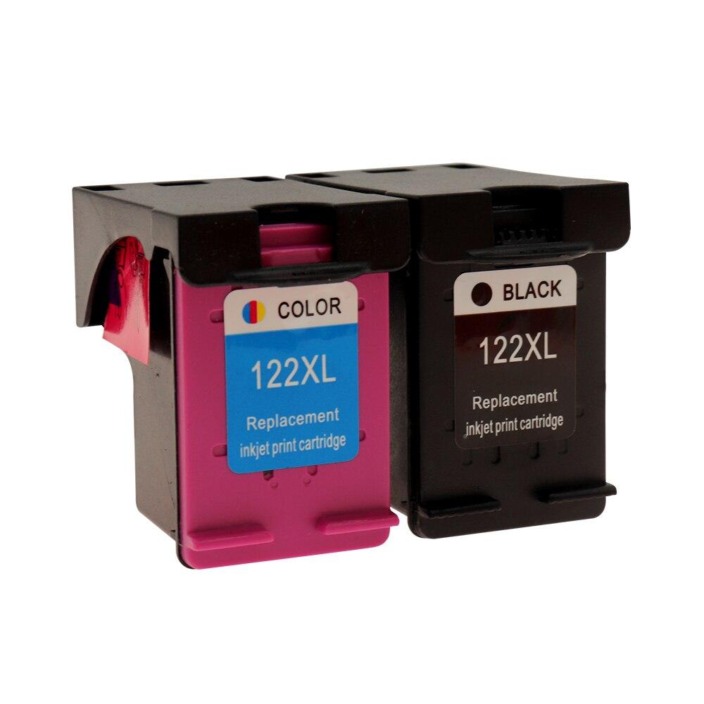 Картридж чернильный Jetvinner для hp 122 122XL, совместимый с HP 122 Deskjet 1000 1050 2000 2050s 2050 3050A 3052A 3000 3054 1010