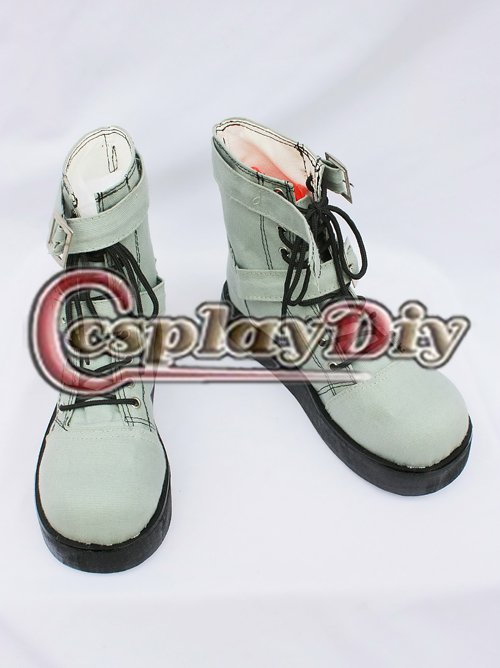 Final Fantasy Hope Estheim Cosplay Boots Blackish Green Ankle Flattie Women Girls Shoes