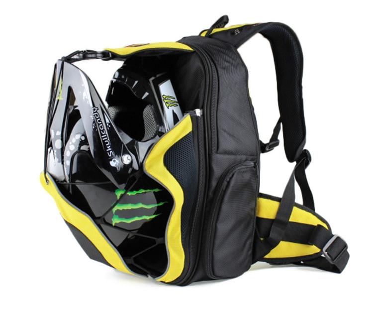 High Capacity Waterproof Backpack Motorcycle Helmet backpack Bag ...