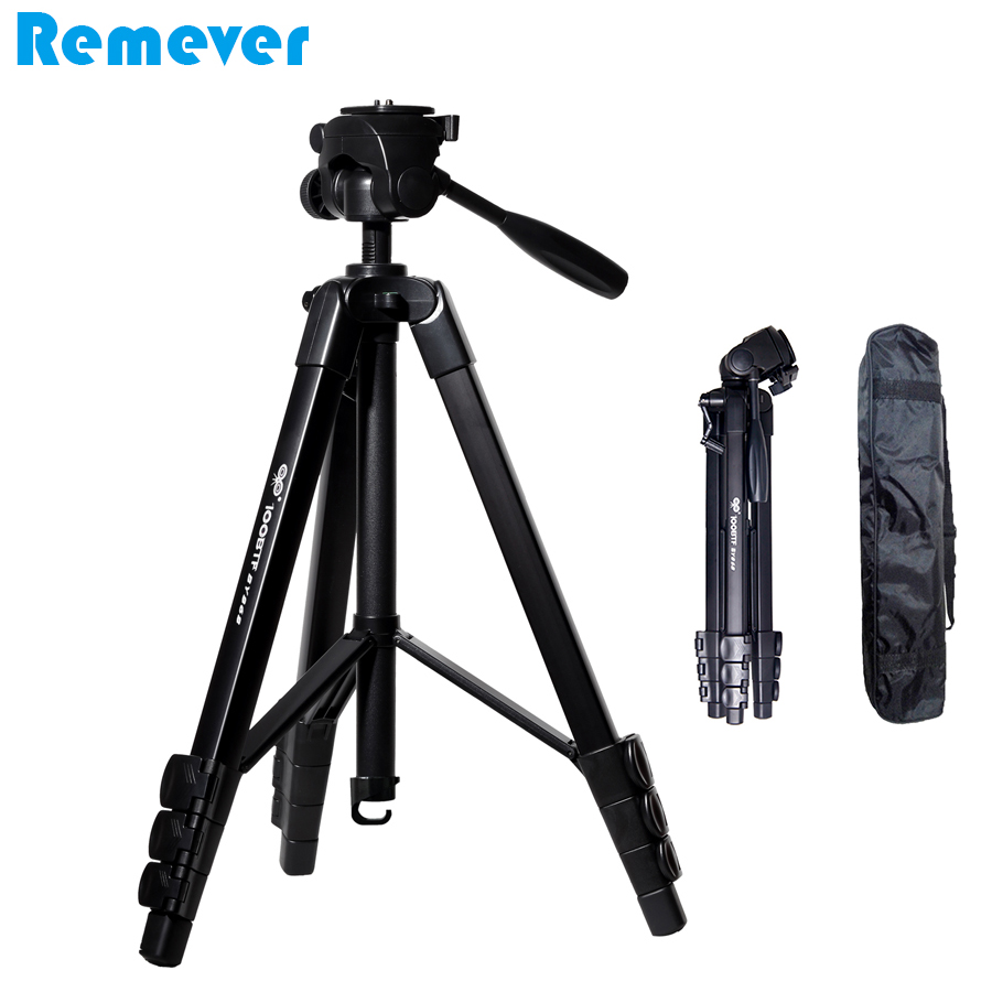 New Portable Professional Camera Tripod with Quick Release Plate Panoramic Gimbal Tripod Stand for CANON SONY NIKON DSLR Cameras 3730 professional tripod for nikon canon sony dslr camera aluminum tripod with pan head gimbal stand for gopro hero dv cameras
