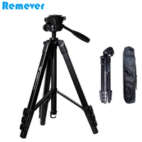 New Portable Professional Camera Tripod with Quick Release Plate Panoramic Gimbal Tripod Stand for CANON SONY NIKON DSLR Cameras