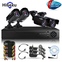 4CH CCTV KIT System HD 1500TVL 960P IR Bullet Outdoor CCTV Surveillance Camera Security System HDMI