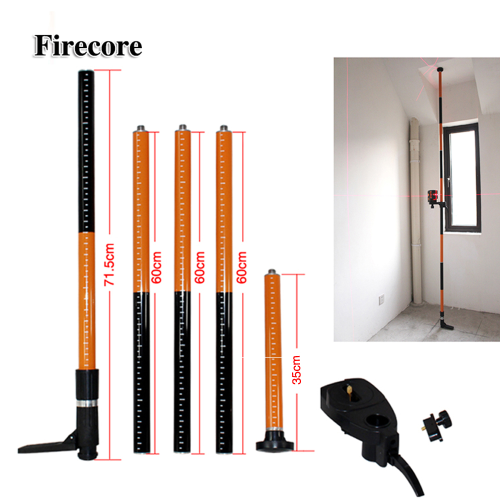 Firecore Estendere Staffa Allungamento Massimo 3.36 m per il Livello del Laser