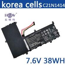 купить 7.6V 4840mah/38Wh Original Laptop Battery C21N1414 For ASUS EeeBook X205T X205TA X205TA-BING-FD015B дешево