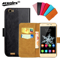 Oukitel K6000 Case Factory Price 6 Colors High Quality Flip Leather Exclusive Cover For Oukitel K6000