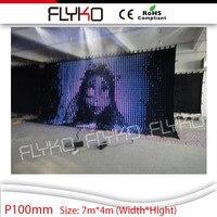 LED детали мебели СВЕТОДИОДНЫХ экранов светодиодный видеоэкран