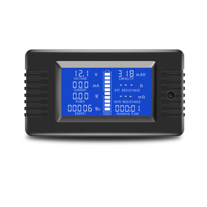 Image 2 - PZEM 015 200 в 50A тестер разряда батареи мощность SOC Сопротивление Цифровой амперметр вольтметр измеритель энергии