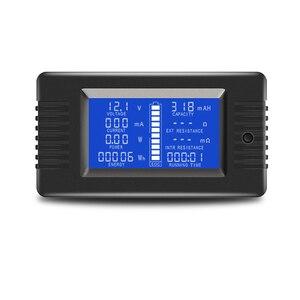 Image 2 - PZEM 015 200v 50A Battery Discharge Tester Capacity Power SOC Impedance Resistance Digital Ammeter Voltmeter Energy Meter