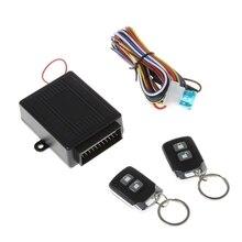 Universal Auto Alarm Systeme Auto Remote Zentrale Kit Türschloss Locking Fahrzeug Keyless Entry System mit 2 Fernbedienungen