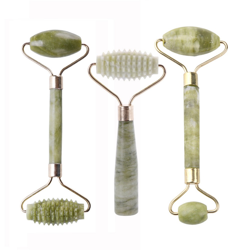 Massage-Tool Roller-Face Relaxation Jade Anti-Wrinkle Facial-Beauty -289778 1PCS Thin title=
