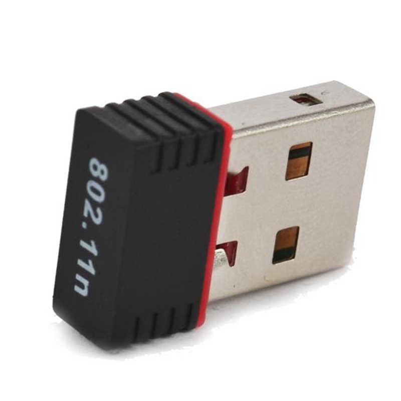 Kebidu 150 150mbps のミニ USB 無線 Lan アダプタ MT7601 802.11 B/g/n の wi-fi ドングル高利得ワイヤレスアンテナ無線 Lan Pc のラップトップコンピュータ用の