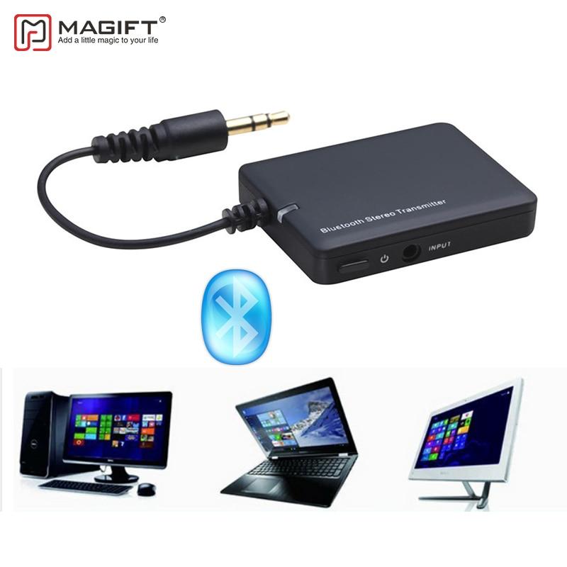 magift emetteur bluetooth 3 5mm audio pour samsung smart tv adaptateur wifi sans fil bluetooth aux emetteurs pour ordinateur portable ipad