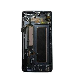 Image 4 - Samsung Not Fan Edition FE Not 7 N930F N935F dokunmatik LCD ekran Ekran Samsung için dijitalleştirici montajı Note7 LCD Değiştirme