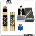 2017 Горячие электронной сигареты механический мод Goon LP Kit 24 мм диаметр fit 18650 batttery 510 нить GOON LP RDA МОД КОМПЛЕКТ Высокого качество