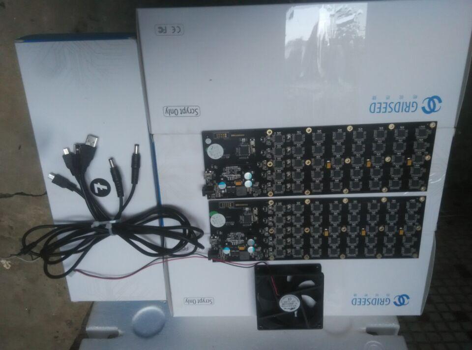 Verwendet Gridseed 5,2-6MH100W USB BERGMANN Scrypt Miner litecoin minning maschine