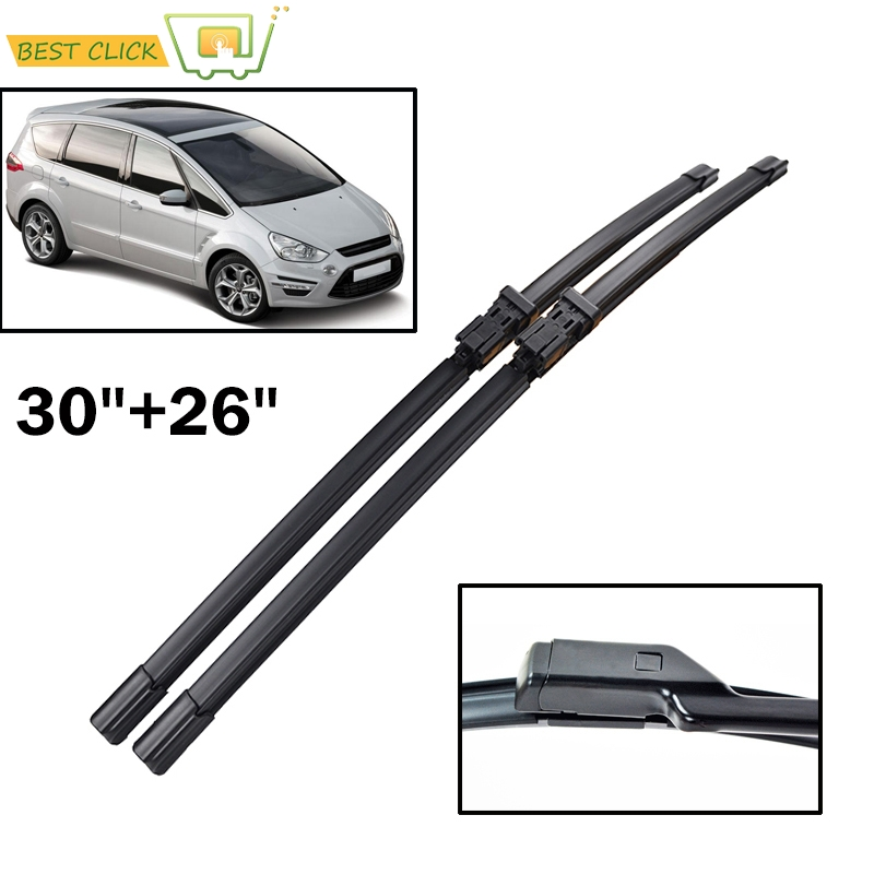 Misima Windshield Windscreen Wiper Blades For Ford S-Max 2007 2008 2009 2010 2011 2012 2013 2015 Front Window For Ford Galaxy
