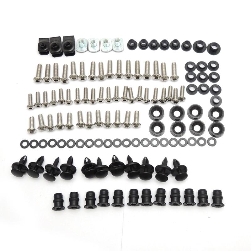Complete Fairing Bolt Nut Screw Kit For HONDA CBR600RR CBR 600 RR CBR 600RR 2003 2004 2005 2006 Fairing Bolt Screw Accessories