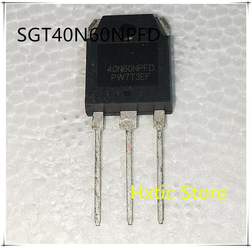 5pcs 40N60NPFD TO-3P 40N60 600V 40A IGBT SGT40N60NPFDPN TO3P