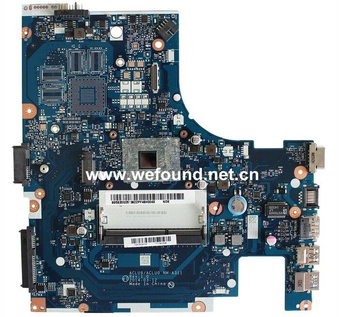 Carte mère d'ordinateur portable pour lenovo G50-30 NM-A311 avec carte système CPU N2830 entièrement testé