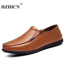 Men's Leather Shoes Plus Size Soft and Comfortable Formal Shoes for Father Casual Loafers Luxury Brand Oxfords Zapatos Hombre