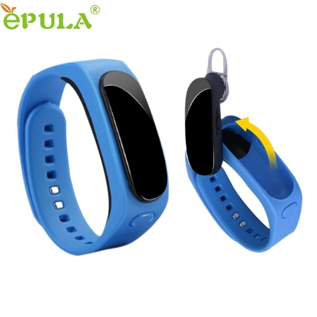 Regalo hermoso nuevo b1 talkband bluetooth4.0 auricular precio al por mayor de smart watch pulsera para iphone 6 s may27