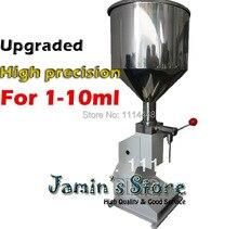 Nouvelle Machine de remplissage manuelle de pâte de petite Dose de mise à niveau, machine de remplissage liquide manuelle 1-10 ml A03