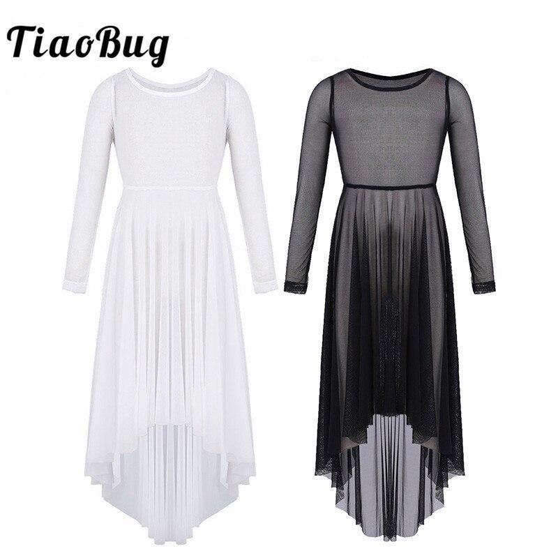 tiaobug-girls-mesh-high-low-hem-dance-dress-lyrical-dance-costumes-girls-font-b-ballet-b-font-contemporary-dance-costume-kids-teens-dance-wear