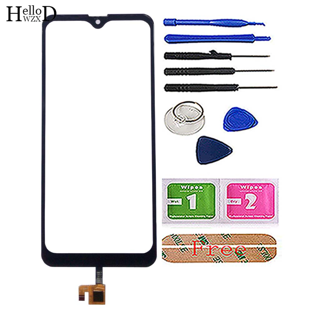 Image 2 - Touch Screen Panel For Leagoo M13 Touch Screen Glass Digitizer Front Glass Repair Parts Mobile Phone Tools Adhesive 3M Glue-in Mobile Phone Touch Panel from Cellphones & Telecommunications