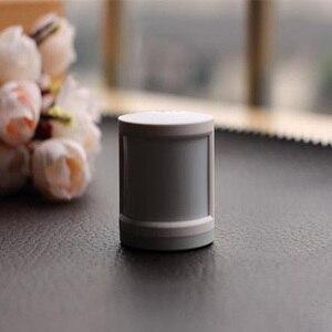Image 5 - Oryginalny Xiao mi mi jia inteligentny czujnik alarmowy ludzkiego ciała inteligentne urządzenia domowe praca światło ostrzegawcze z mi aplikacja domowa