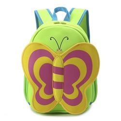 Cartoon butterfly waterproof neoprene children girls mini bags kids backpacks kindergarten school bag.jpg 250x250