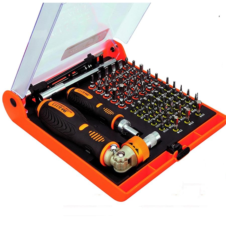 73 en 1 ensemble de tournevis de précision multi-outil ménage cliquet bricolage ensemble d'outils à main pour ordinateur portable et téléphone portable ordinateur réparation de voiture