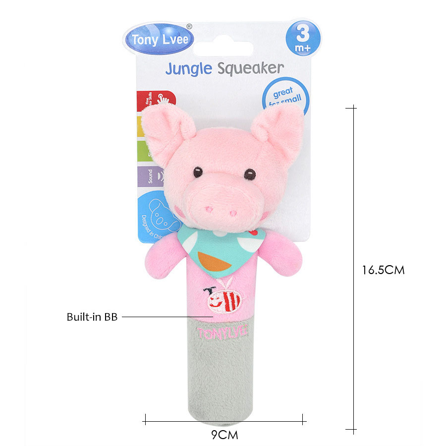 Baby Toys 0 12 Months Cute Animal Hanging Rattles Built in BB Infant Baby Toys Gifts Stuffed Handbells Hand Bell Plush Doll in Baby Rattles Mobiles from Toys Hobbies