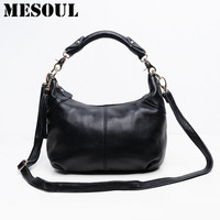 Candy Color Fashion Women Bags 100 Genuine Leather Women S Shoulder Handbag Hobos Diagonal Purse Satchel