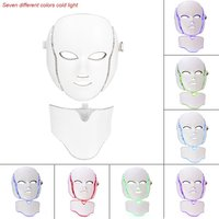 2018 Hot LED 7Colors Light Microcurrent Skin Rejuvenation Facial Mask Electric Device High Quality Face Skin
