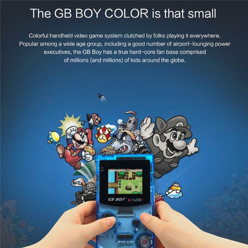 Jogador de jogo handheld da cor do