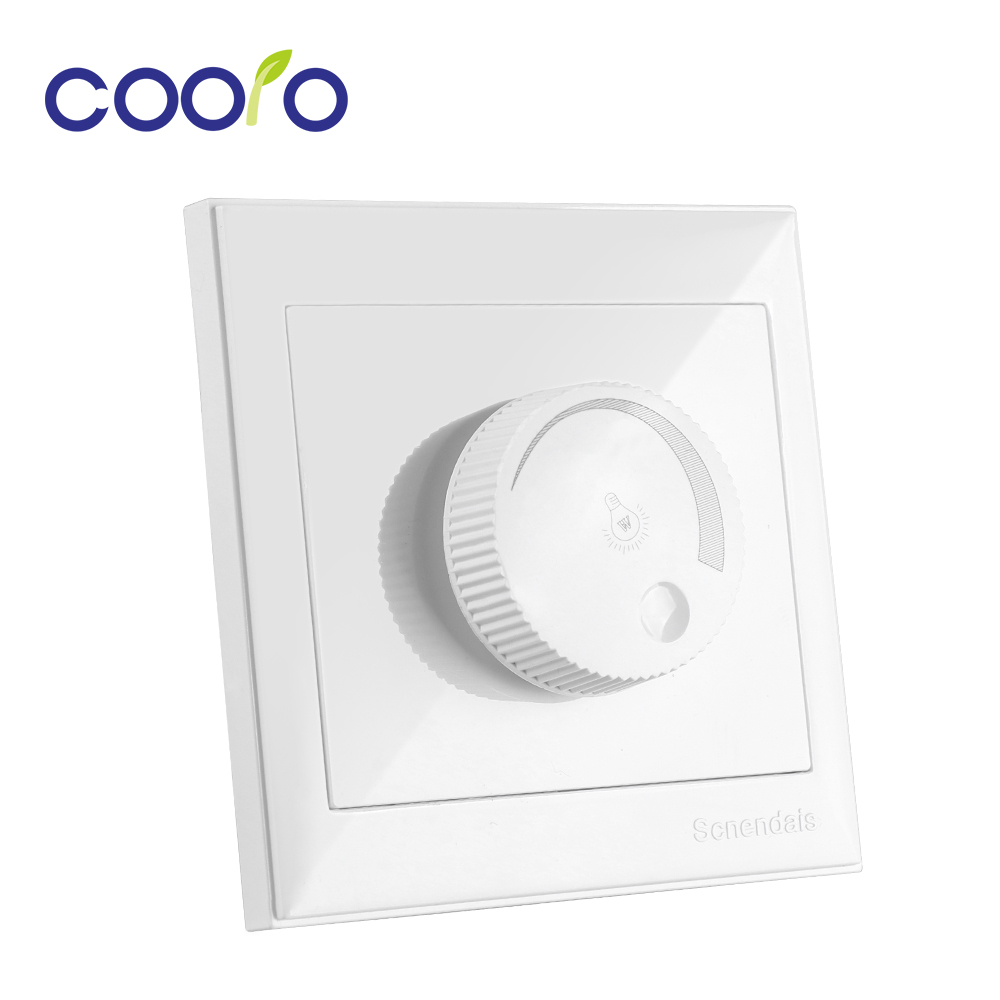 New LED Dimmer 220V 300W 600W 1000W LED Switch Dimmer Adjustable Brightness Wall Controller For Dimmable Light Bulb Lamp