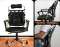 Car Office Home Chair Truck Seat Waist Rest Cushion Pain Relief Mesh Lumbar Pillow Cool Vent Cushion Mesh Back Lumbar Support