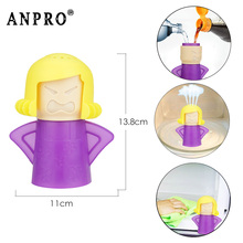 Anpro  Microwave Cleaner Easily Cleans Microwave Oven